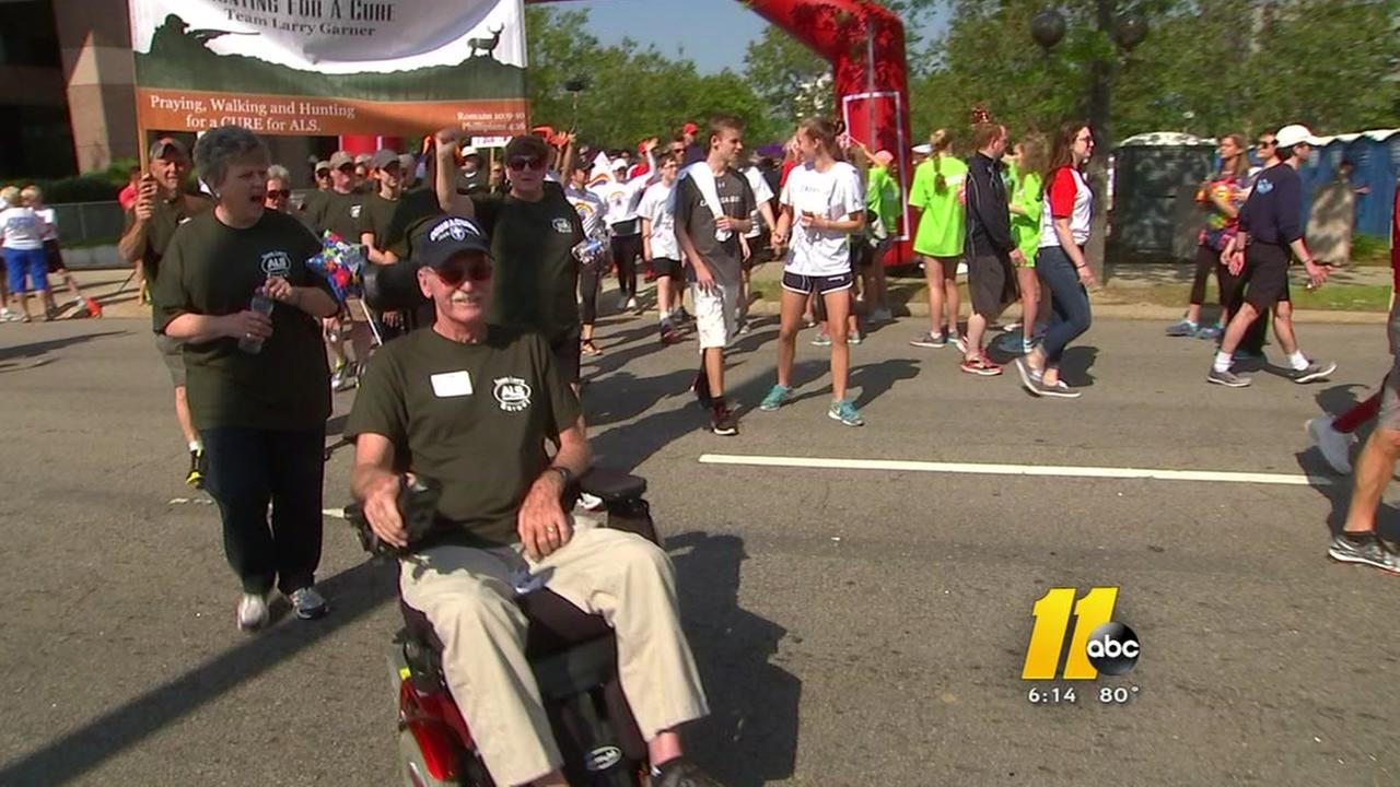 Large turnout for Walk to defeat ALS