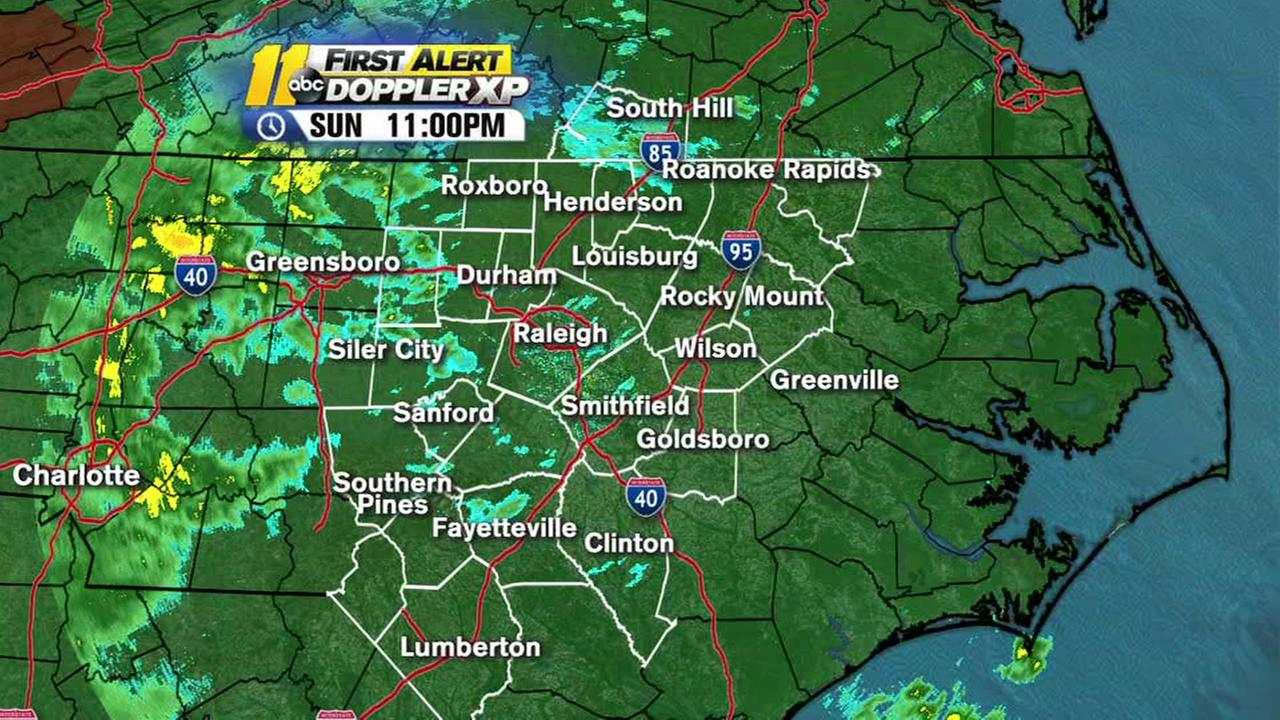 Flood warning issued for entire ABC11 viewing area
