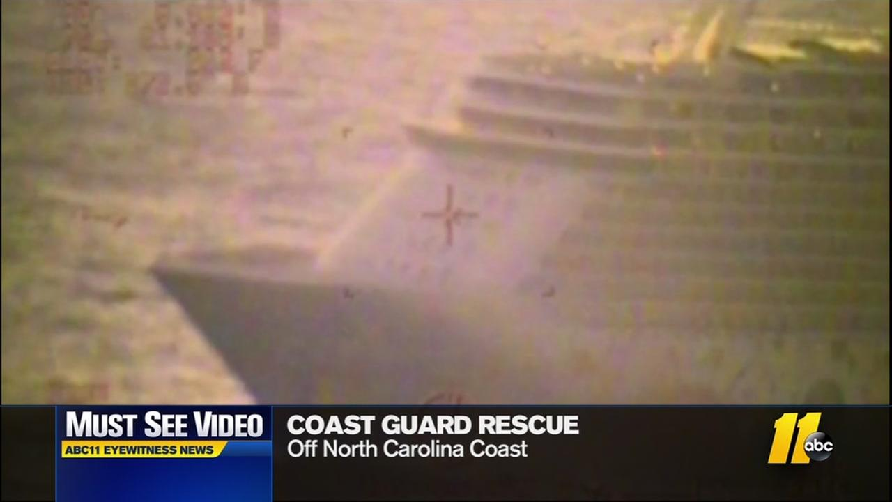 Coast Guard plucks man from cruise ship
