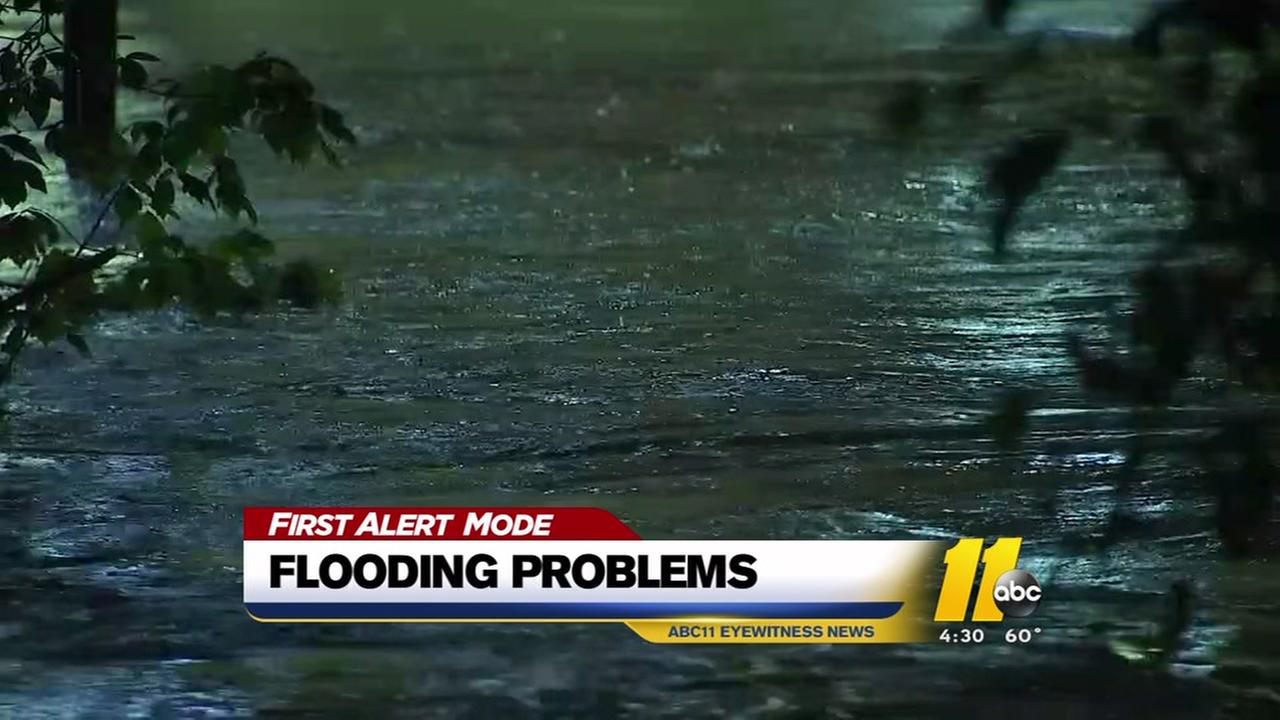 Flooding problems across the Triangle