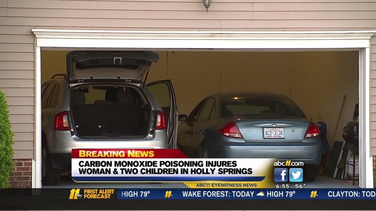 Cat alerts Holly Springs family about carbon monoxide, 3 hospitalized