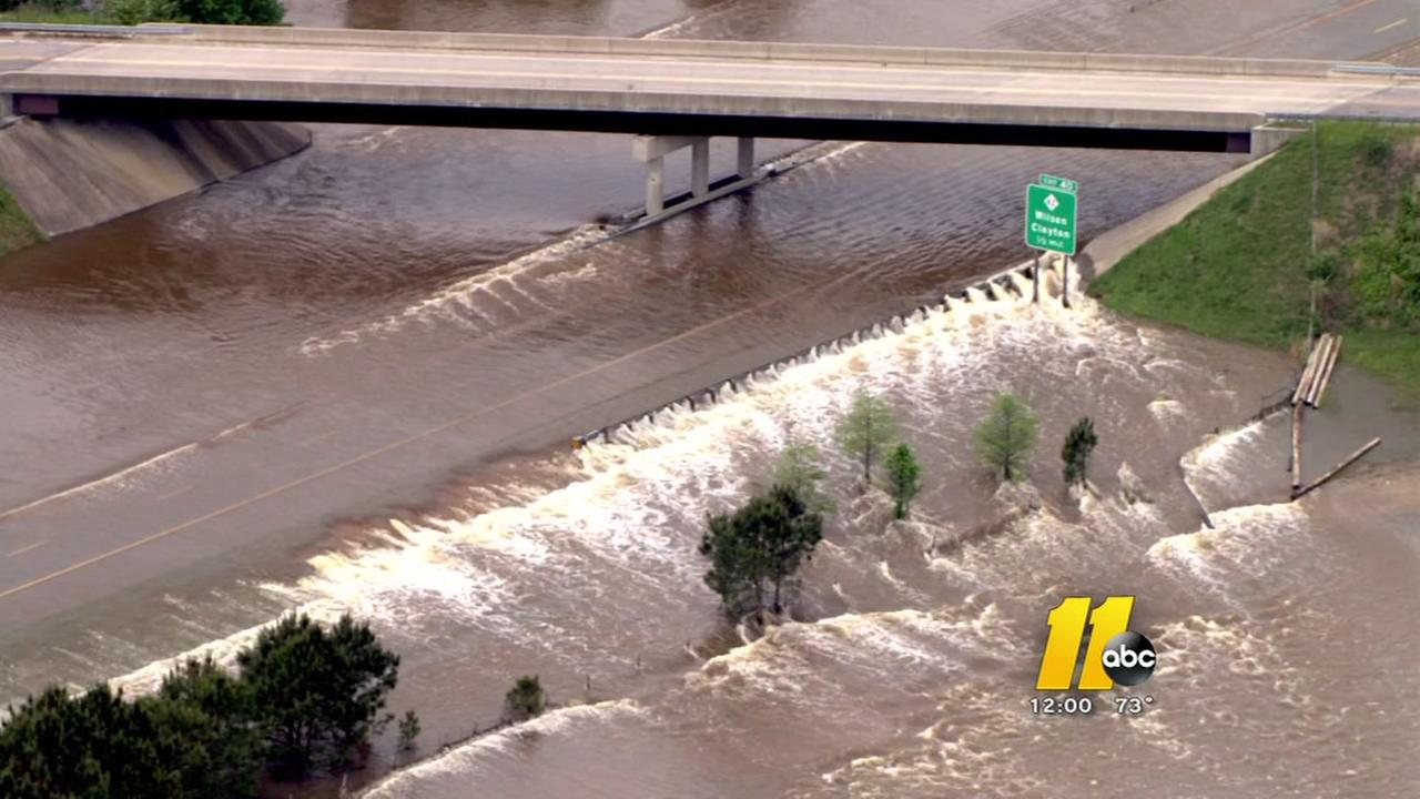 Flood waters still a concern in the Triangle