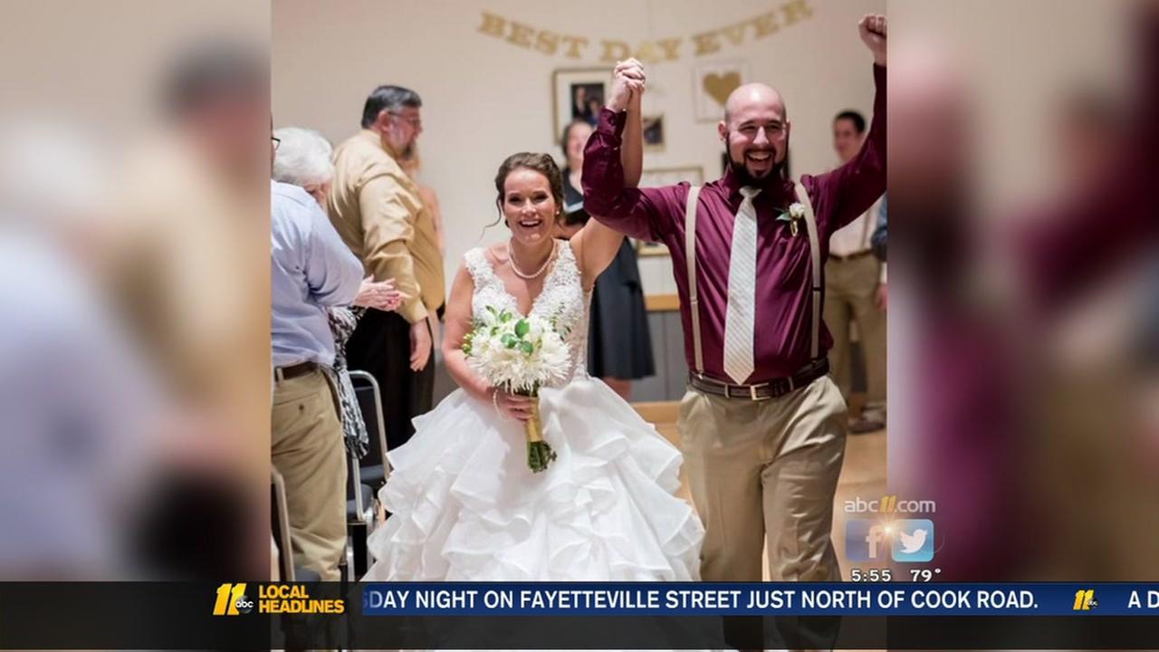 NC bride donates kidney to stranger