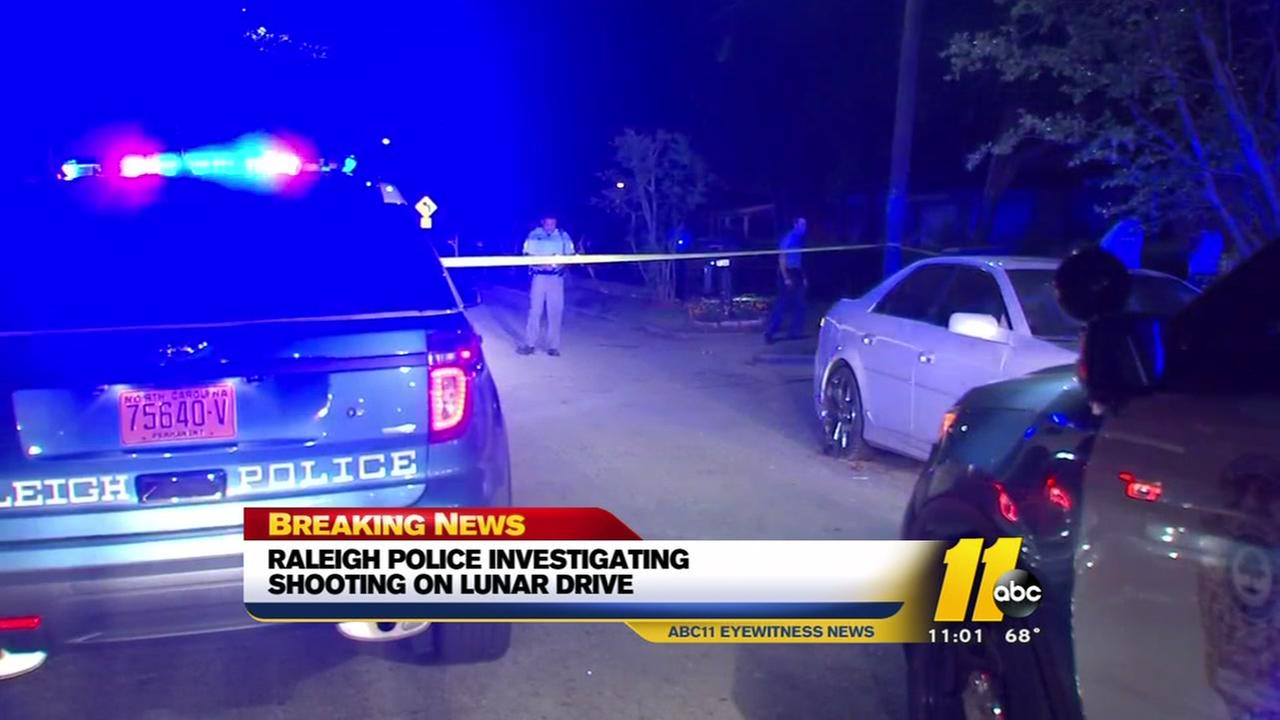 Man shot in Raleigh