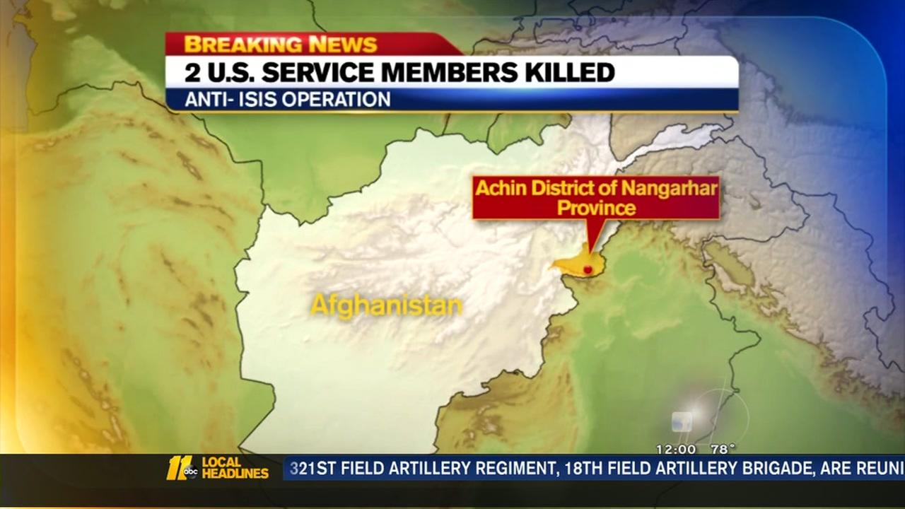 2 American soldiers killed in Afghanistan