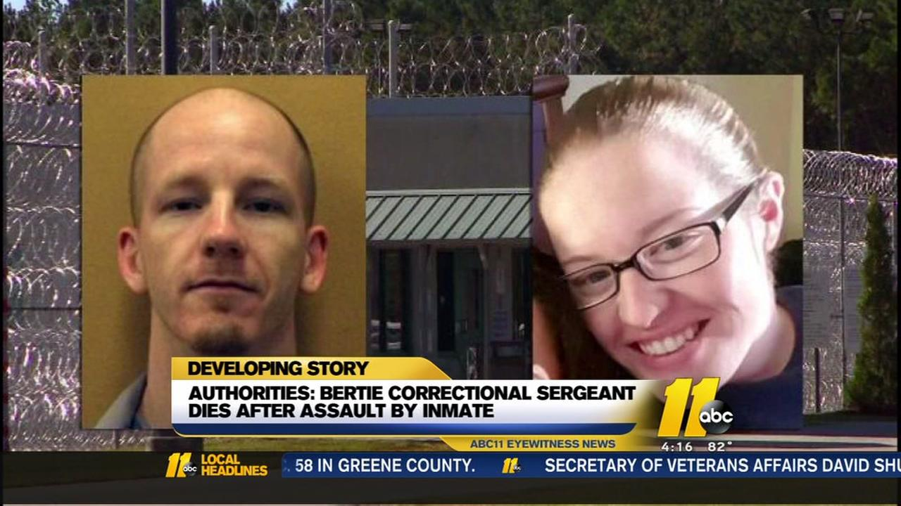 NC flags lowered to half-staff for slain prison officer