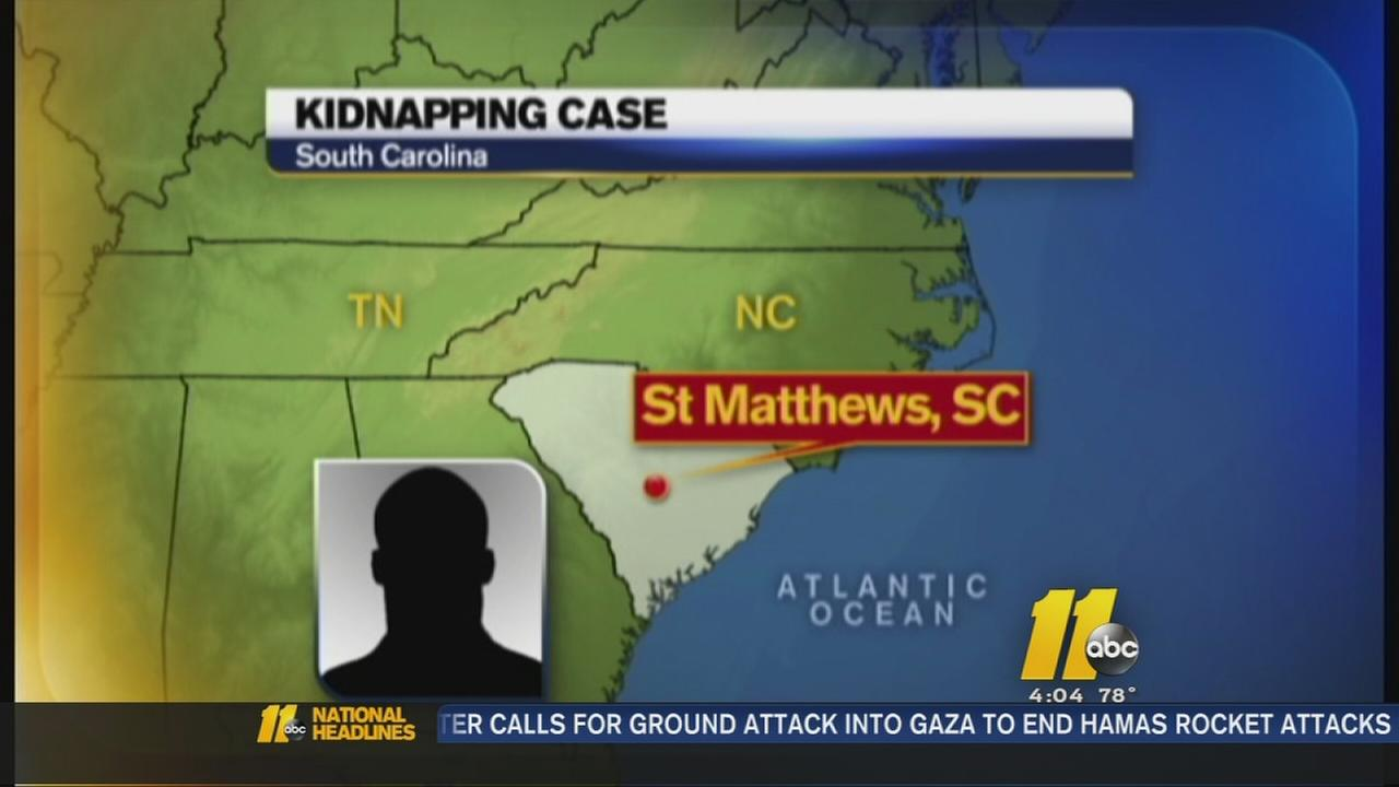 FBI: Kidnapped SC man rescued after 6 days in NC