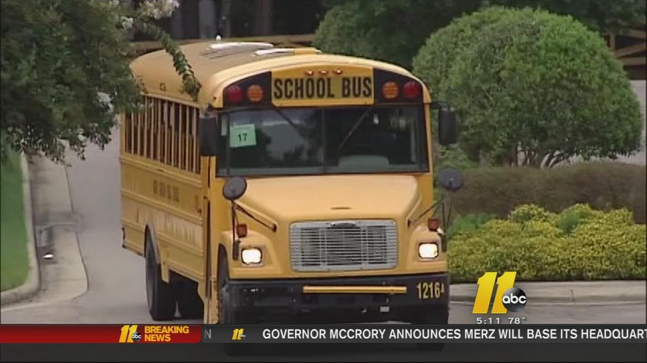 Parents concerned about hot school buses
