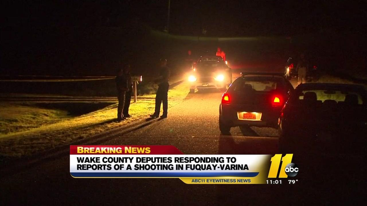 Wake County deputies respond to scene in Fuquay-Varina