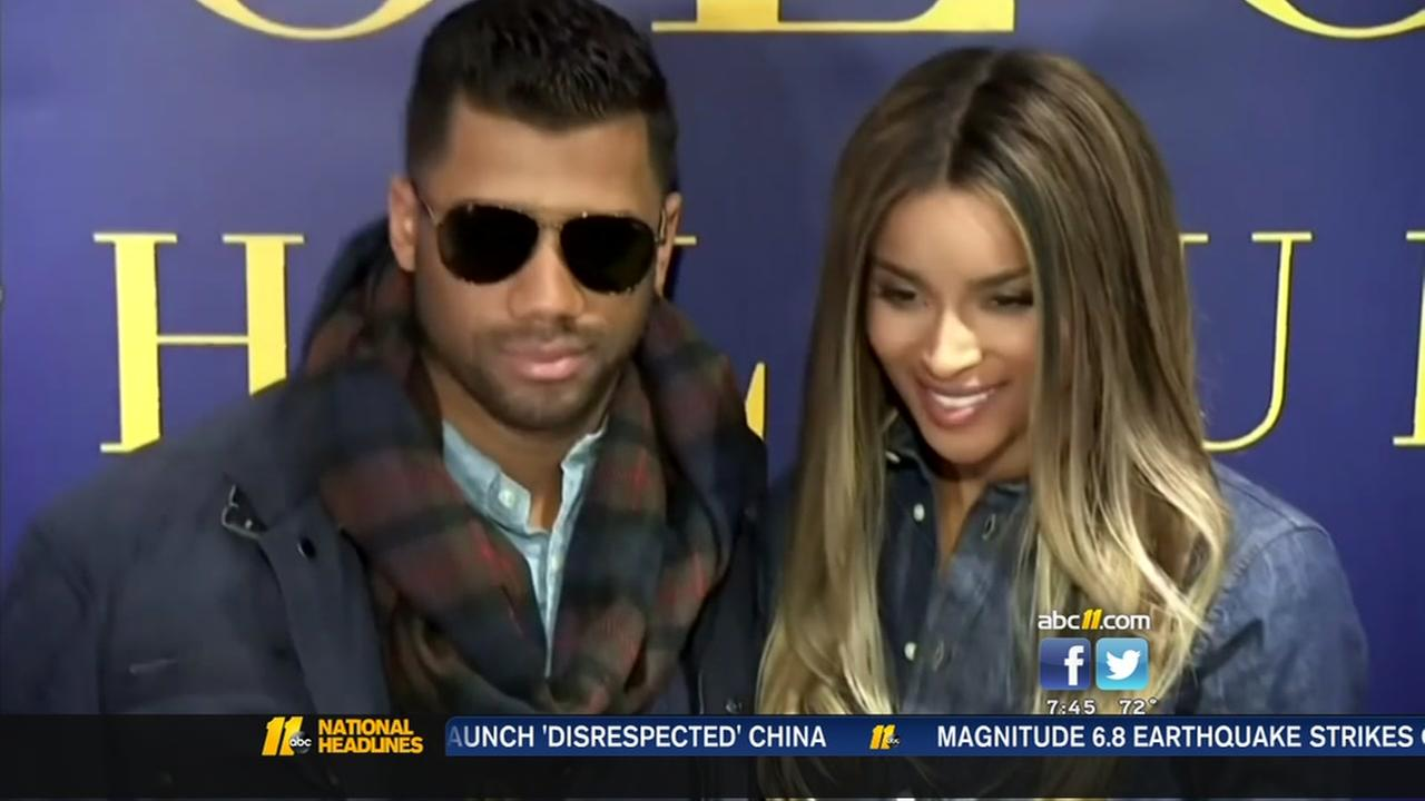 Ciara and Russell Wilson welcome baby girl