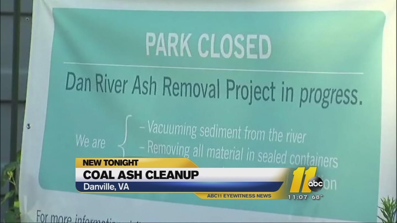 Coal ash moved to Person County landfill