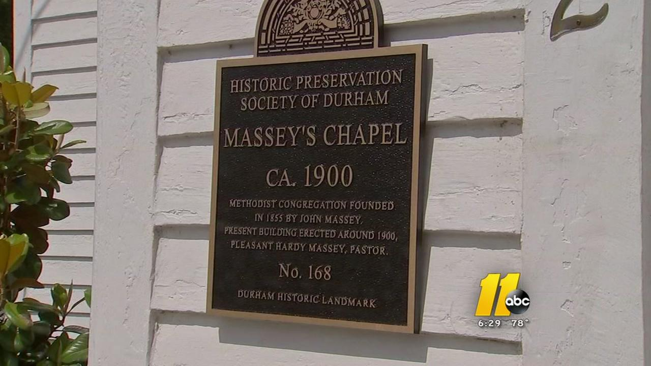 101-year-old woman helps honor historic Durham church