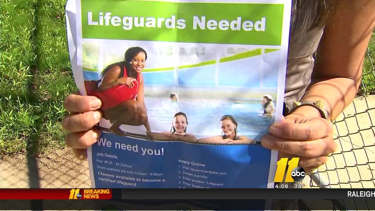 Lifeguard shortage in Raleigh