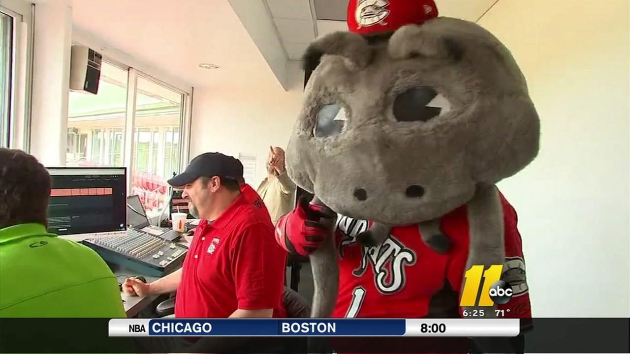 Meet the man behind the mascot