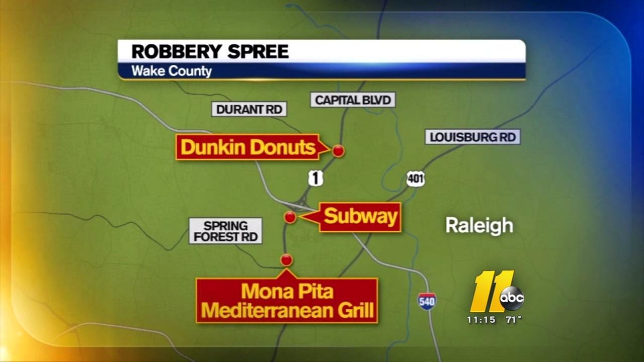 Police seek connection between robberies