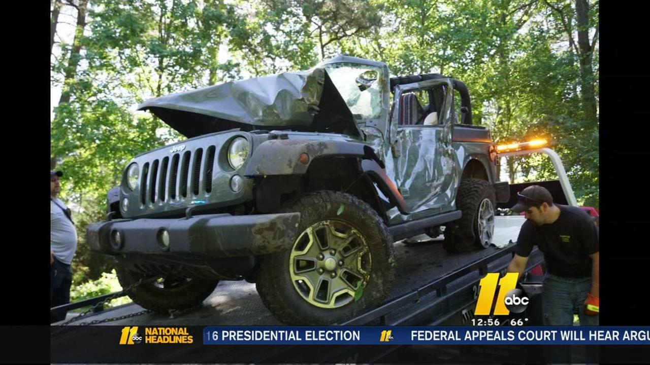 Daughter of Moore County Sheriffs deputy dies in car crash
