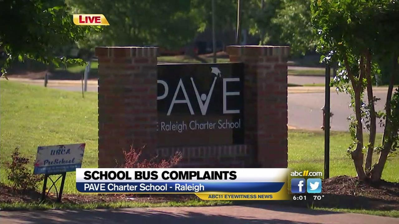 A school bus driver and bus monitor have been fired.