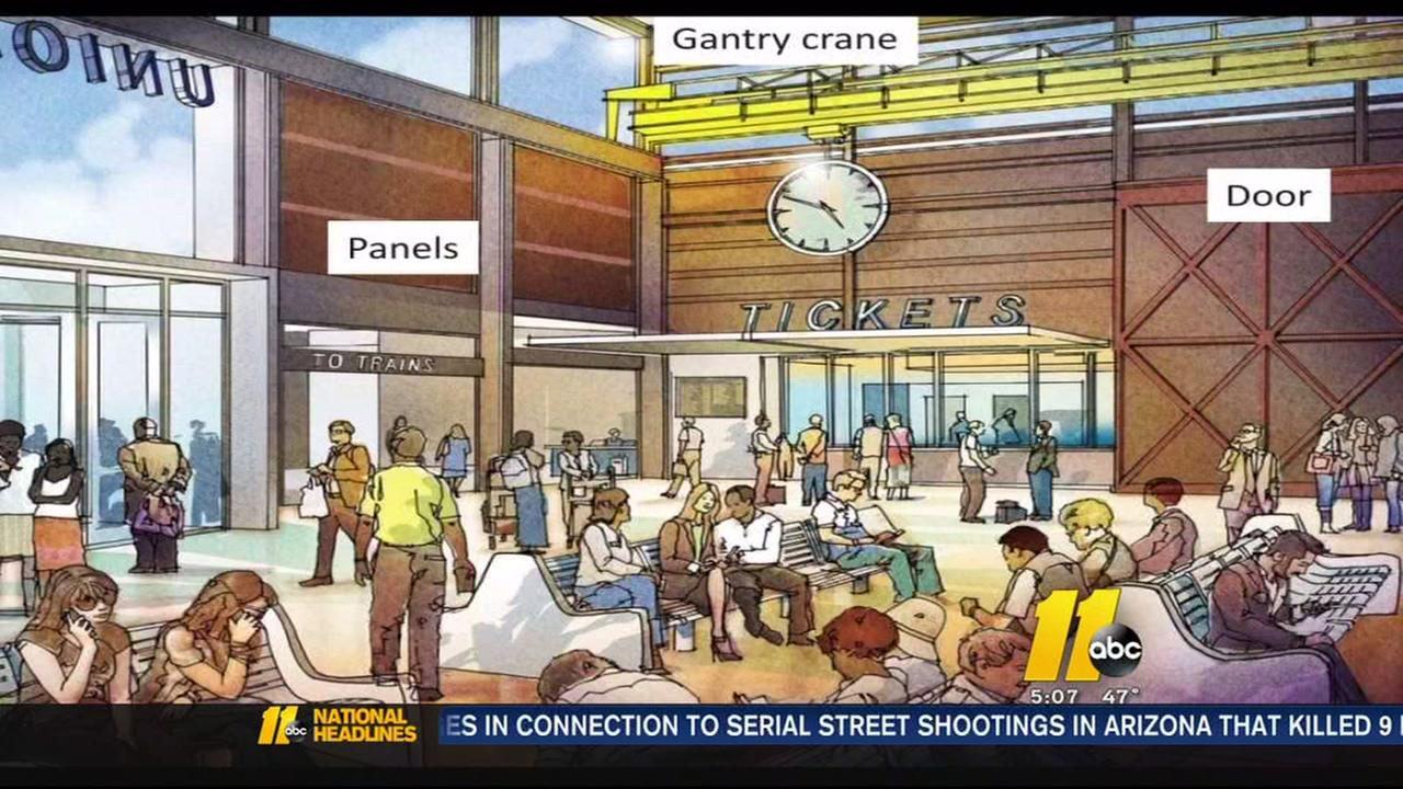 Raleigh transportation station described as a game changer