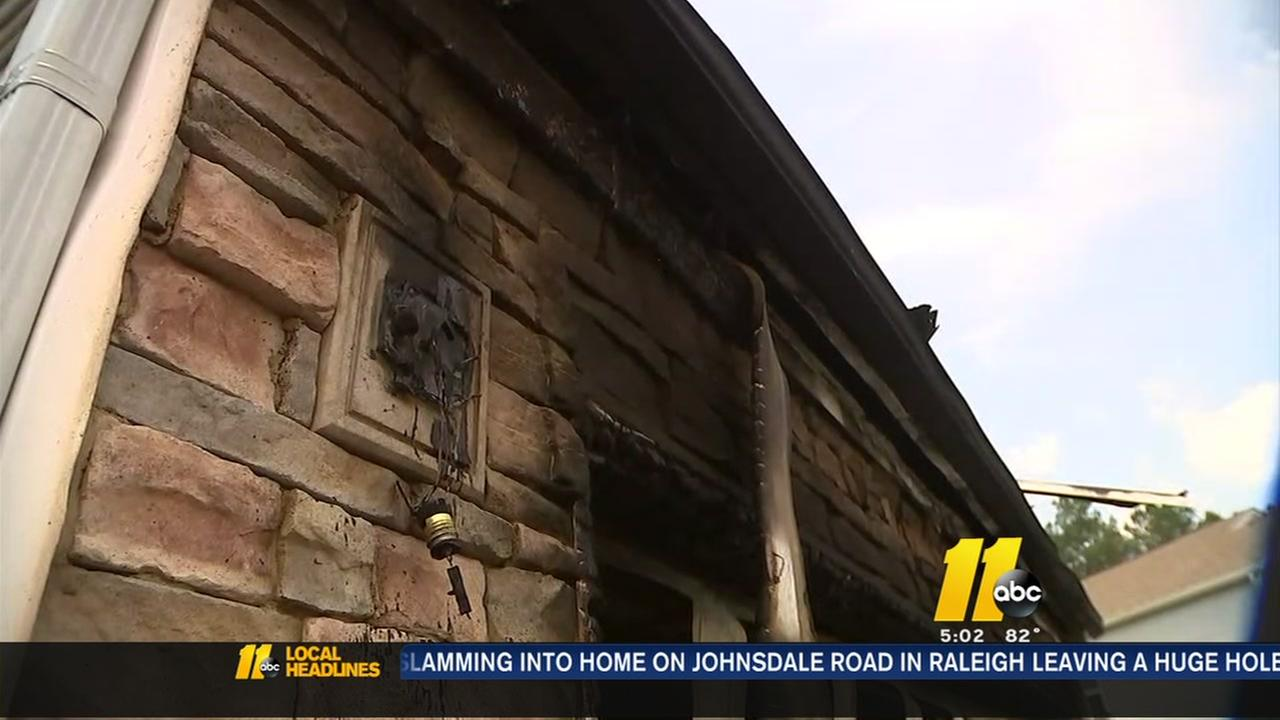 Knightdale family escapes house fire