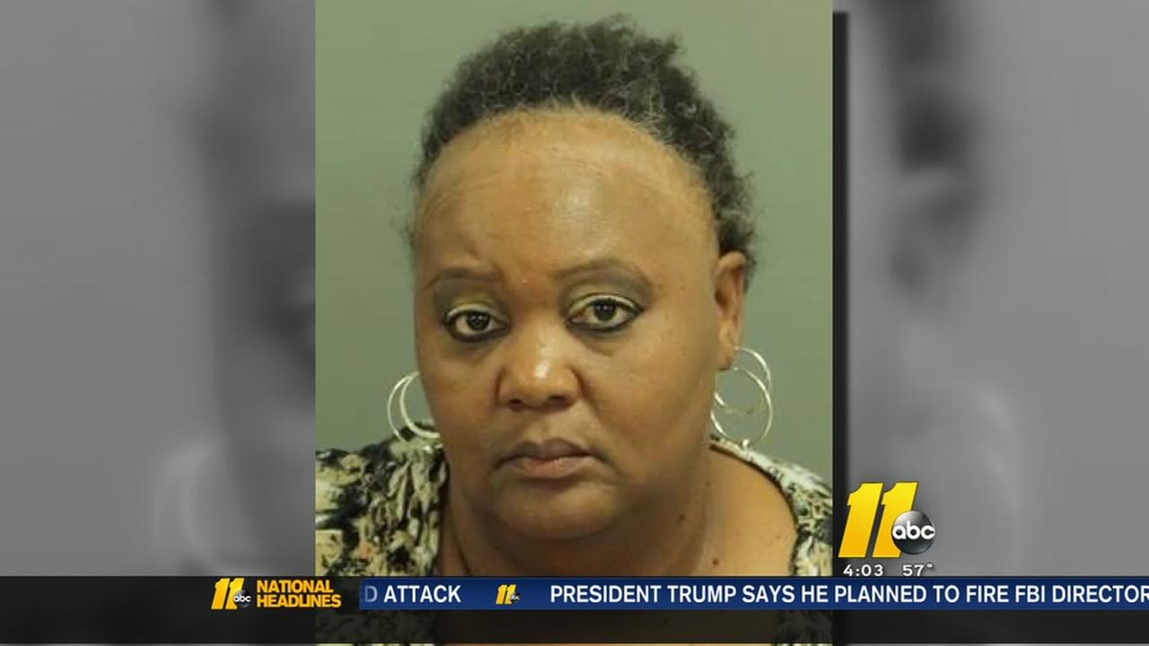 Raleigh cleaning lady charged with theft