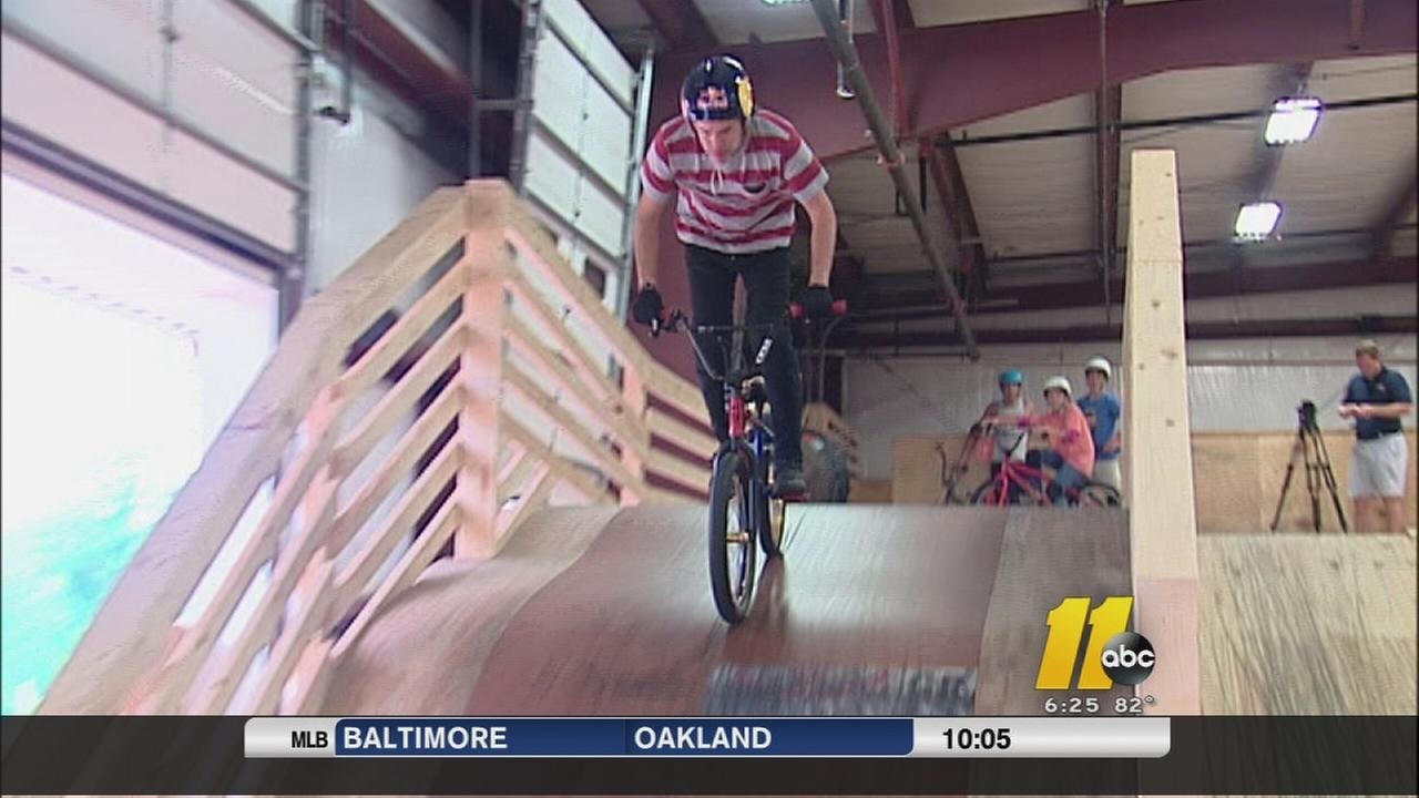 X Games gold medalist Daniela Dhers new action sports complex in Holly Springs