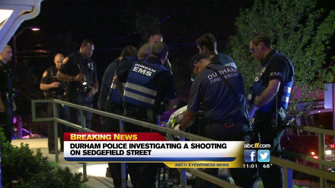 Durham Police investigate Sedgefield Street shooting