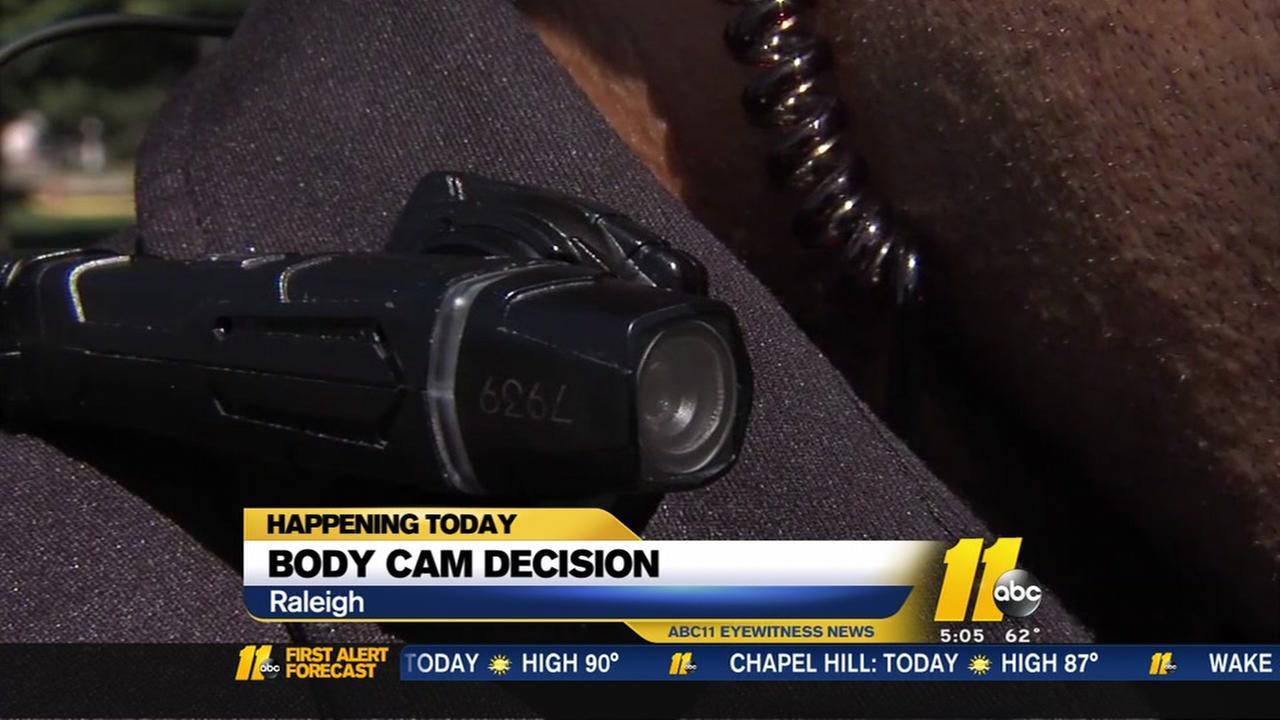 Body cam decision