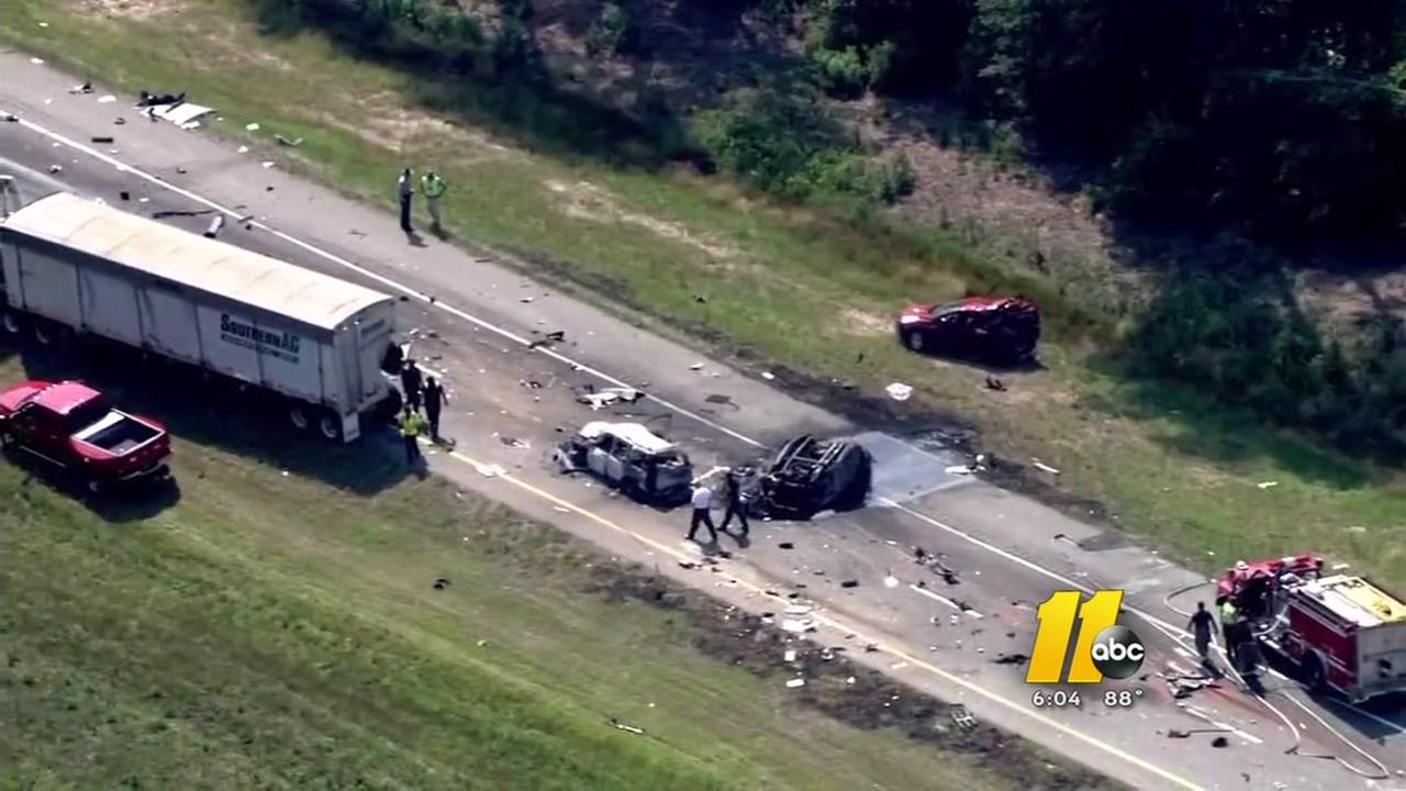 Charleston woman seriously injured in I95 crash  Island