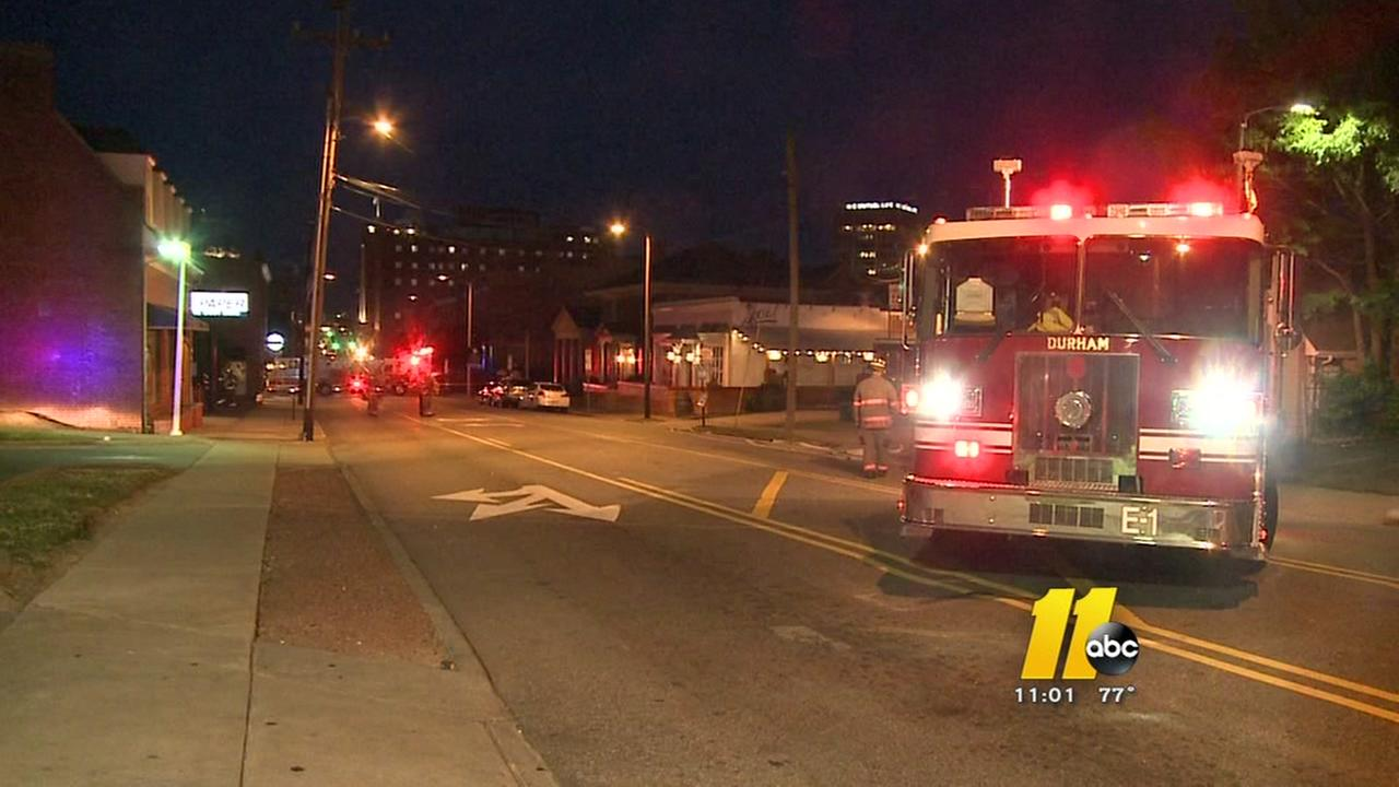 Gas leak disrupts Durham Main Street