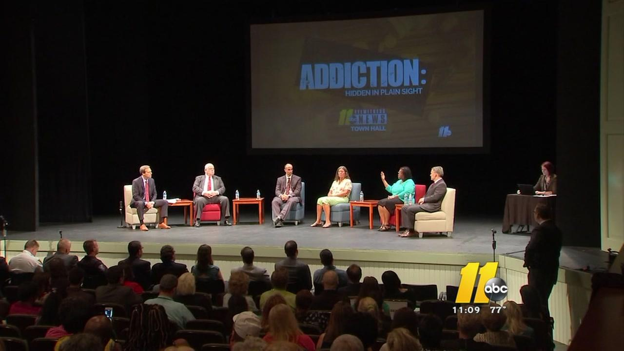 ABC11 hosted town hall on opioid addiction