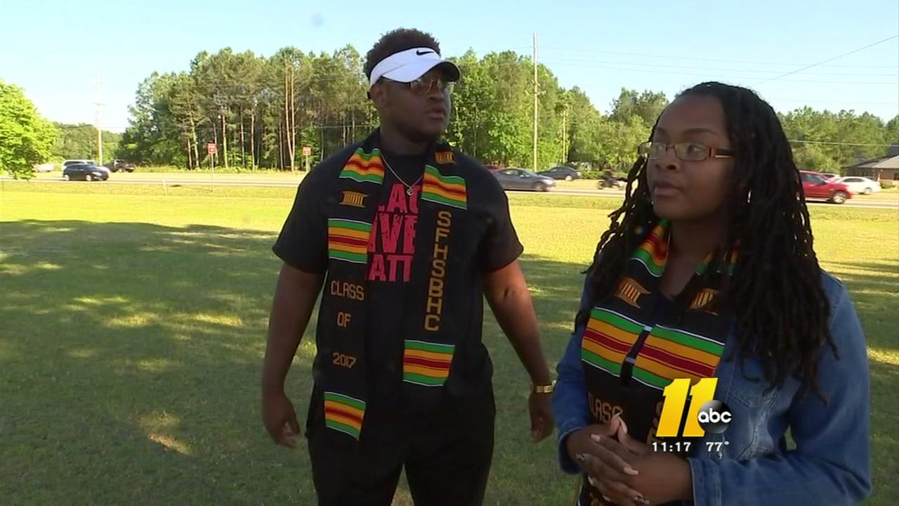 Fayetteville students upset over principals decision
