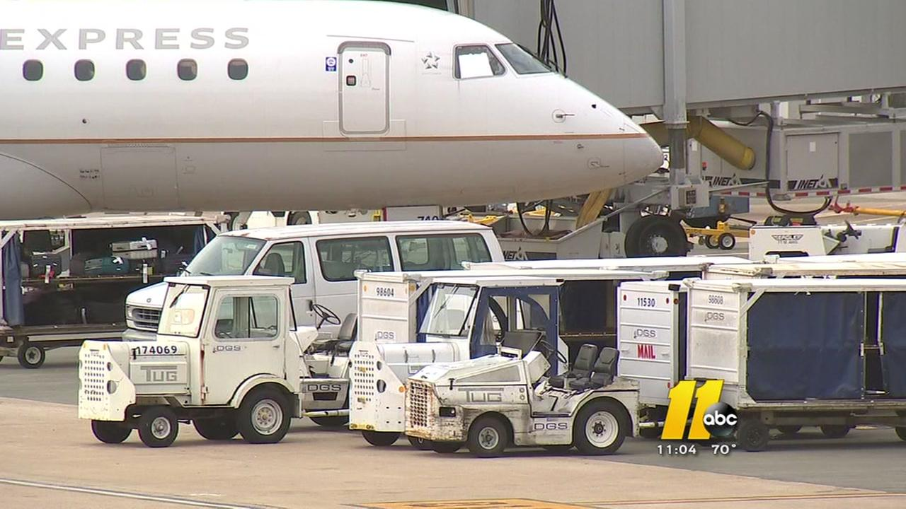 American flight makes emergency landing at RDU