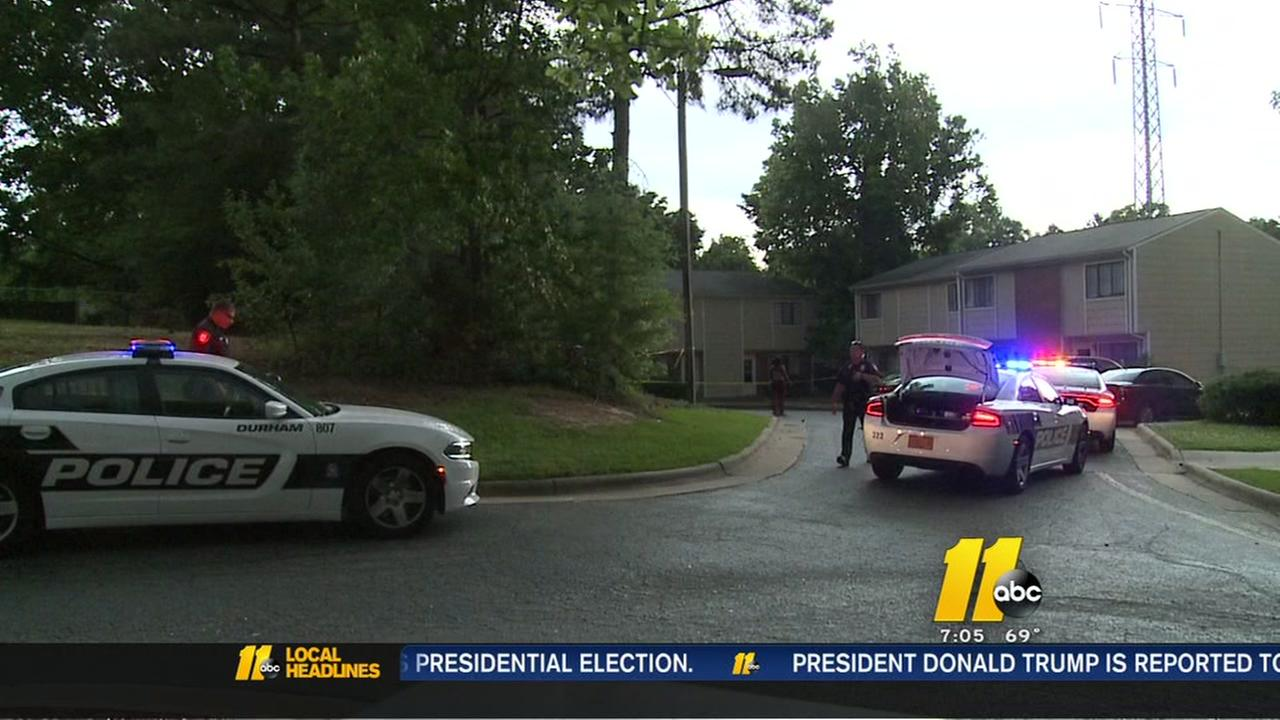 Police investigate shooting near Durham apartments