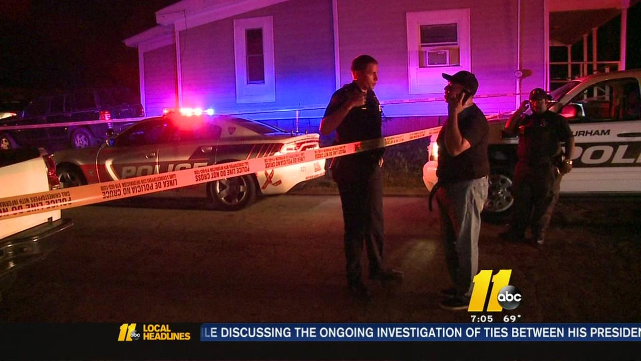 Man hurt in Durham robbery