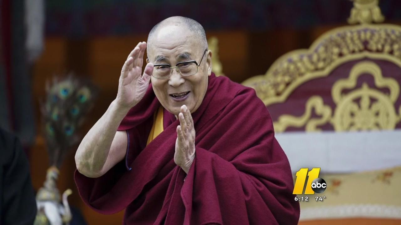 Dalai-Lama will visit Raleigh this fall