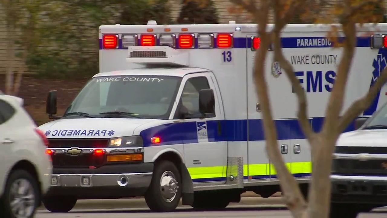 Wake County ambulance