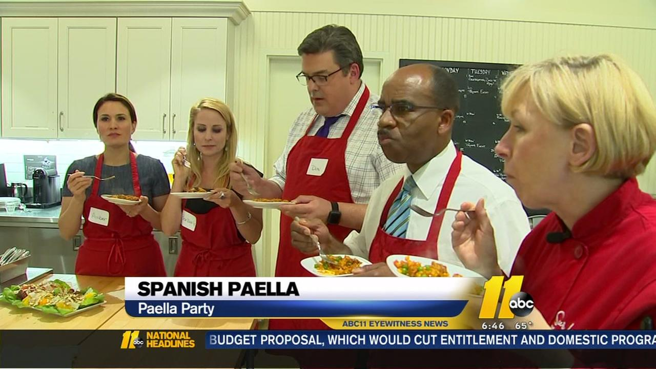 Cooking with the ABC11 Morning Team