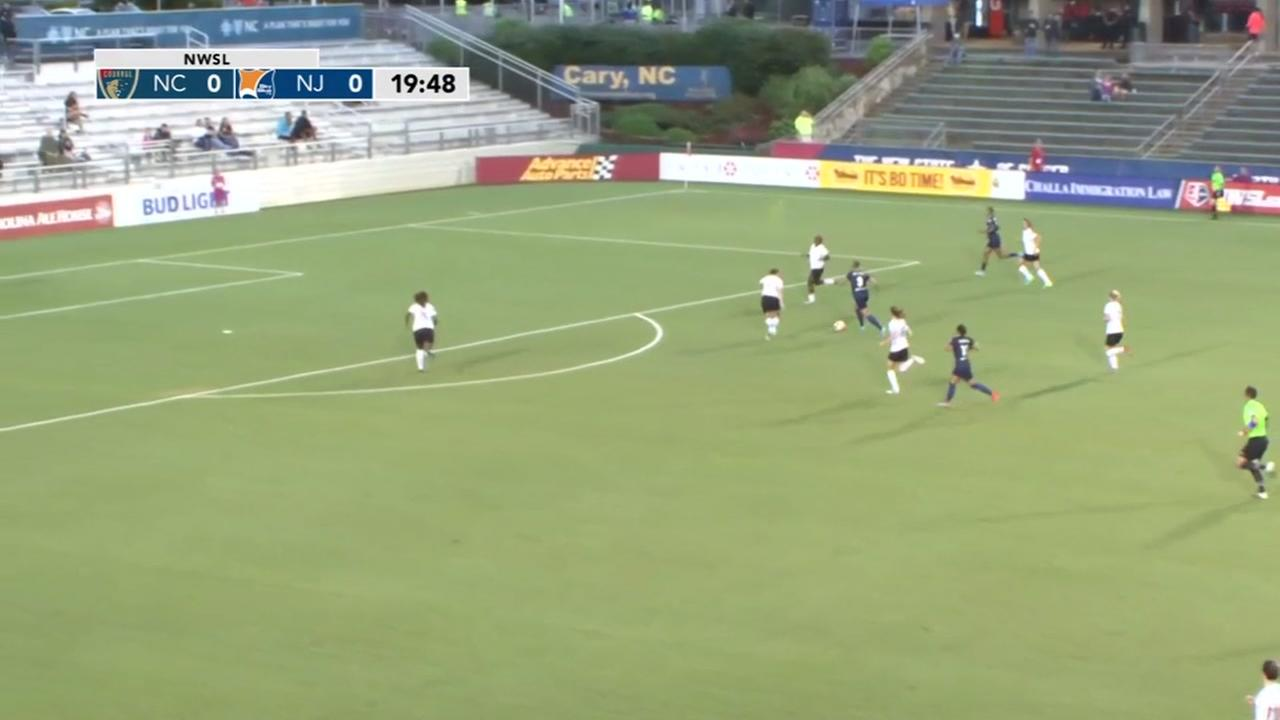 Tremendous strike in NC Courage win