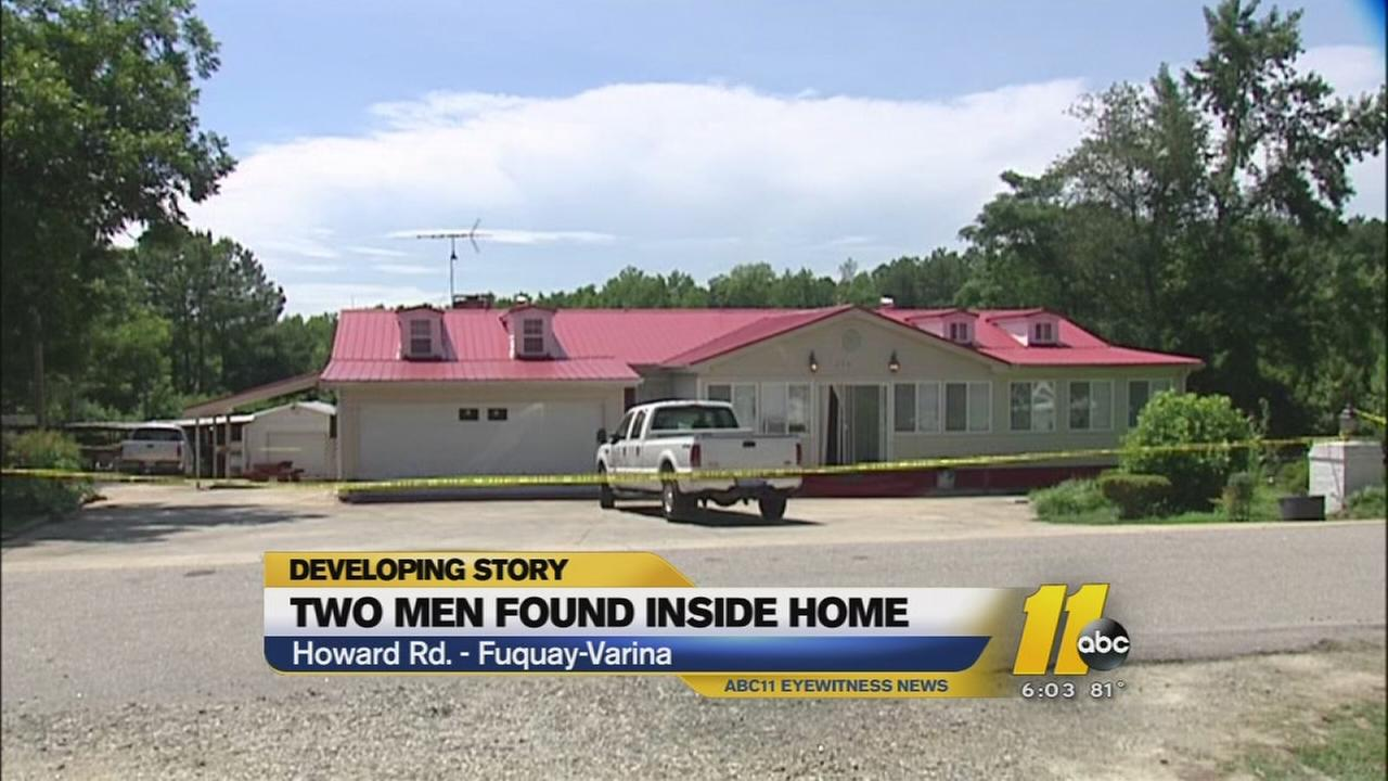 Two men found dead inside Fuquay-Varina home