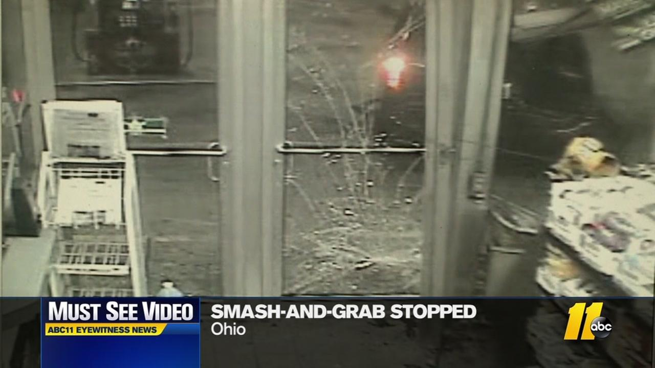 Smash-and-grab stopped