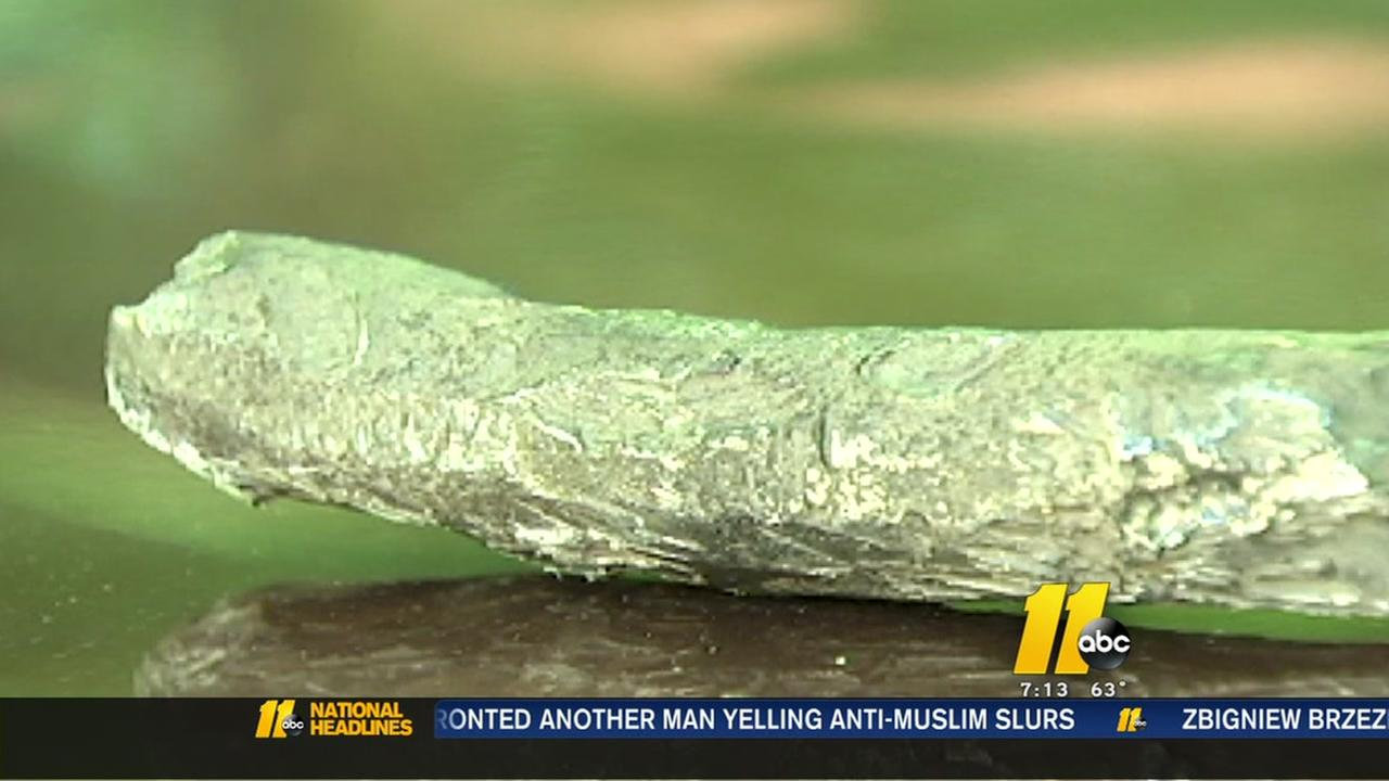 Mystery object falls from sky in NC