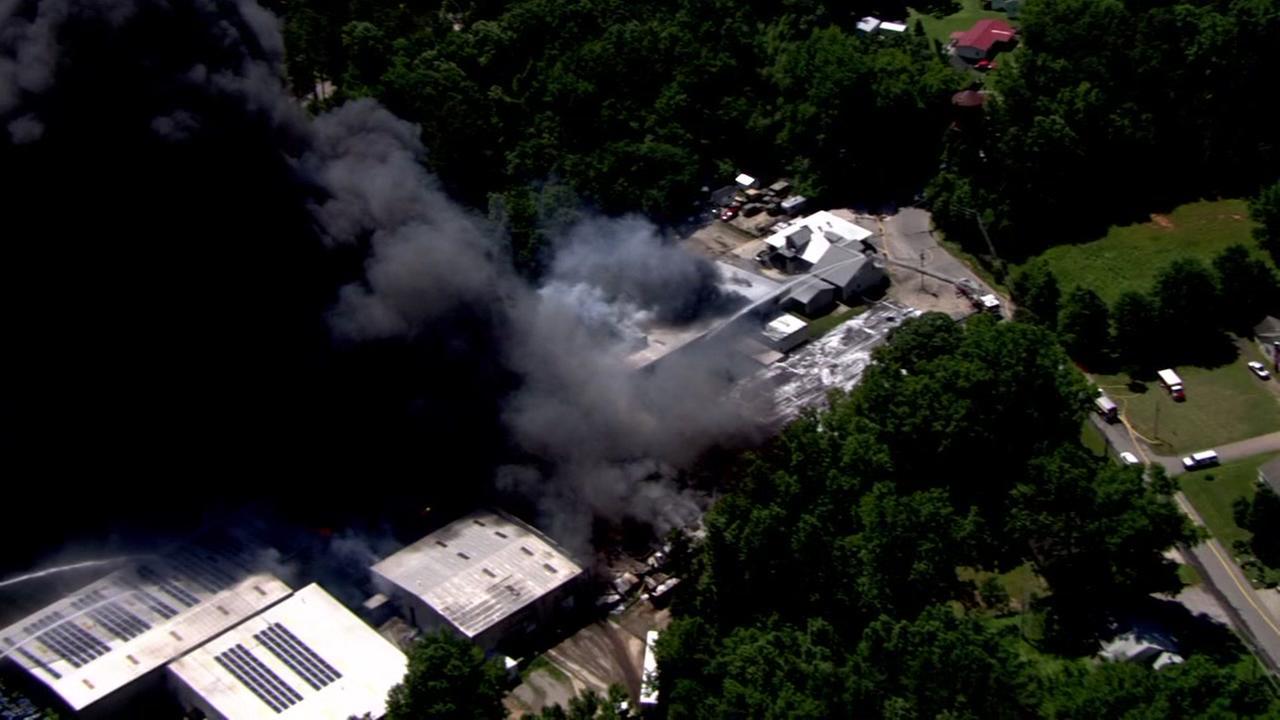 Henderson factory fire