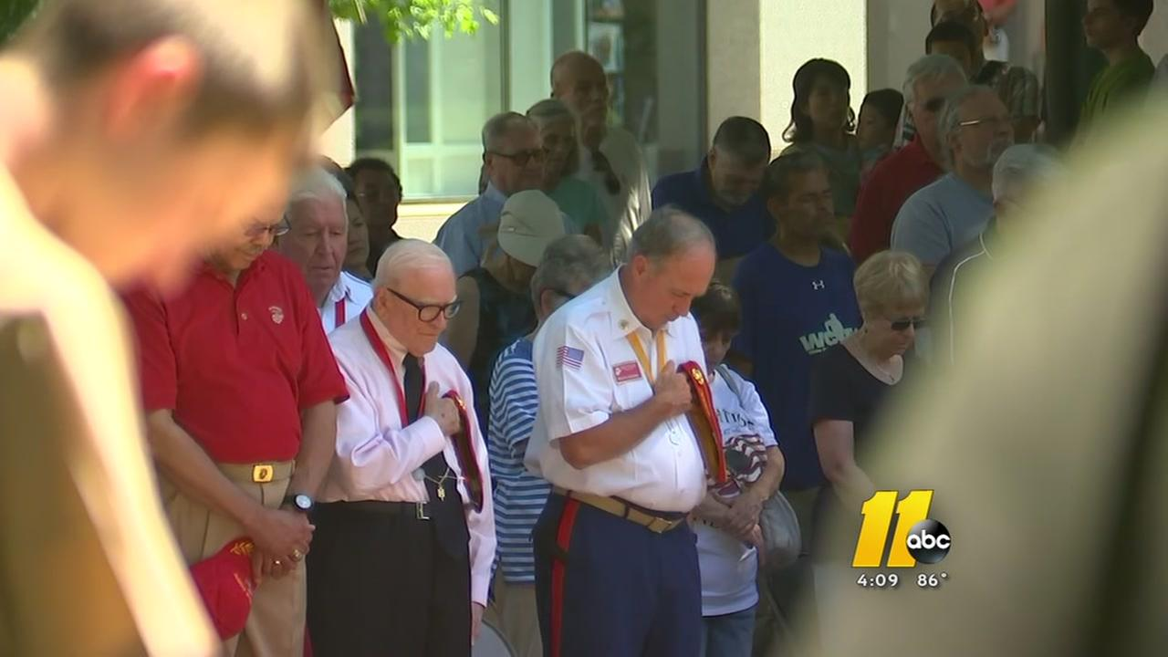 North Carolinians honor the fallen on Memorial Day