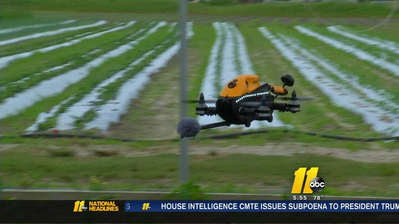 Edgecombe County professor creates drone pollinator to help crops
