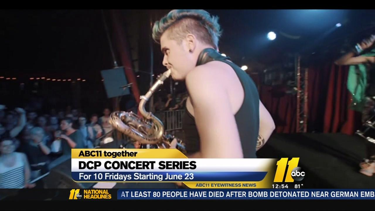 Concert series starts in Durham Central Park on June 23