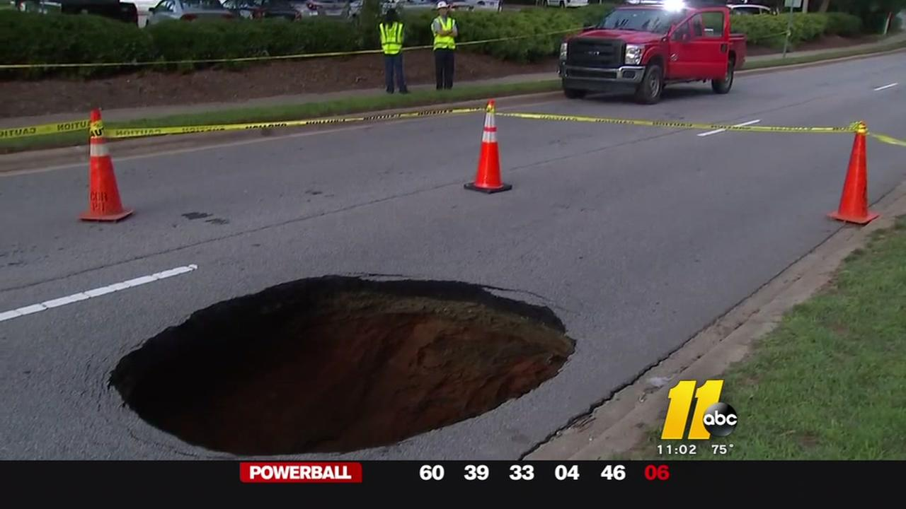 Hole in Millbrook Road will take days to repair