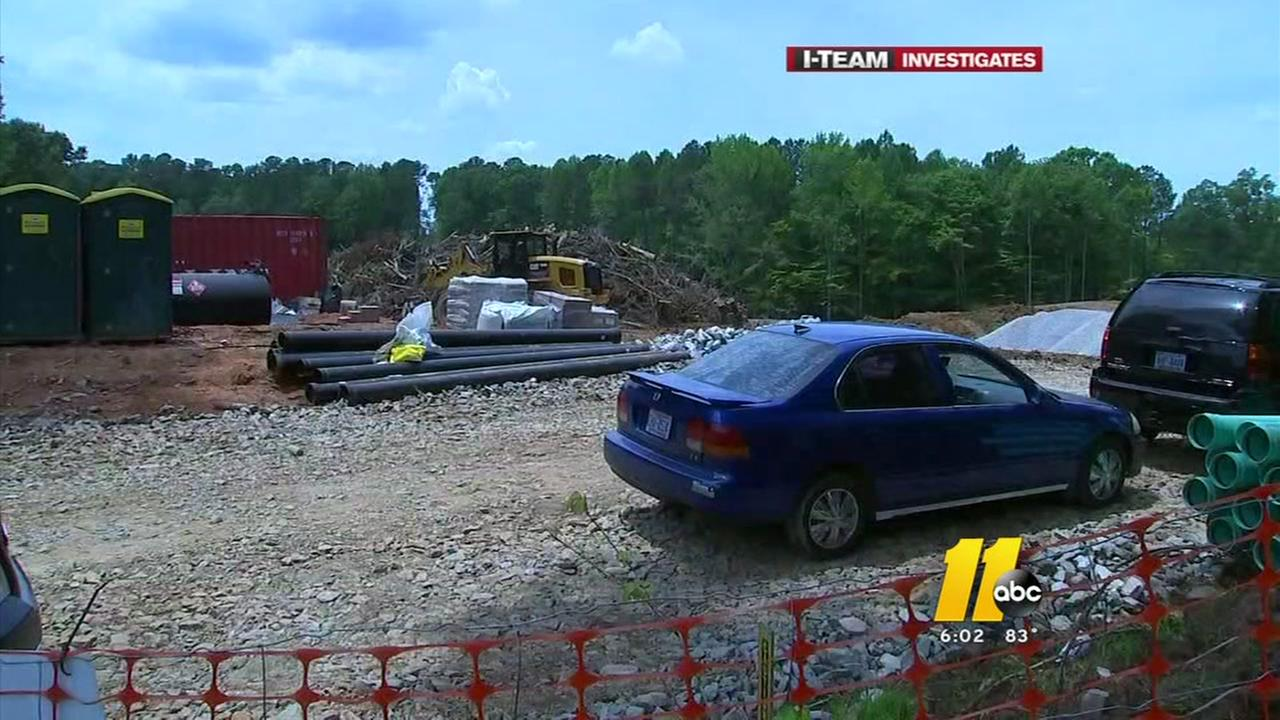 Construction booms rattle Raleigh neighborhood