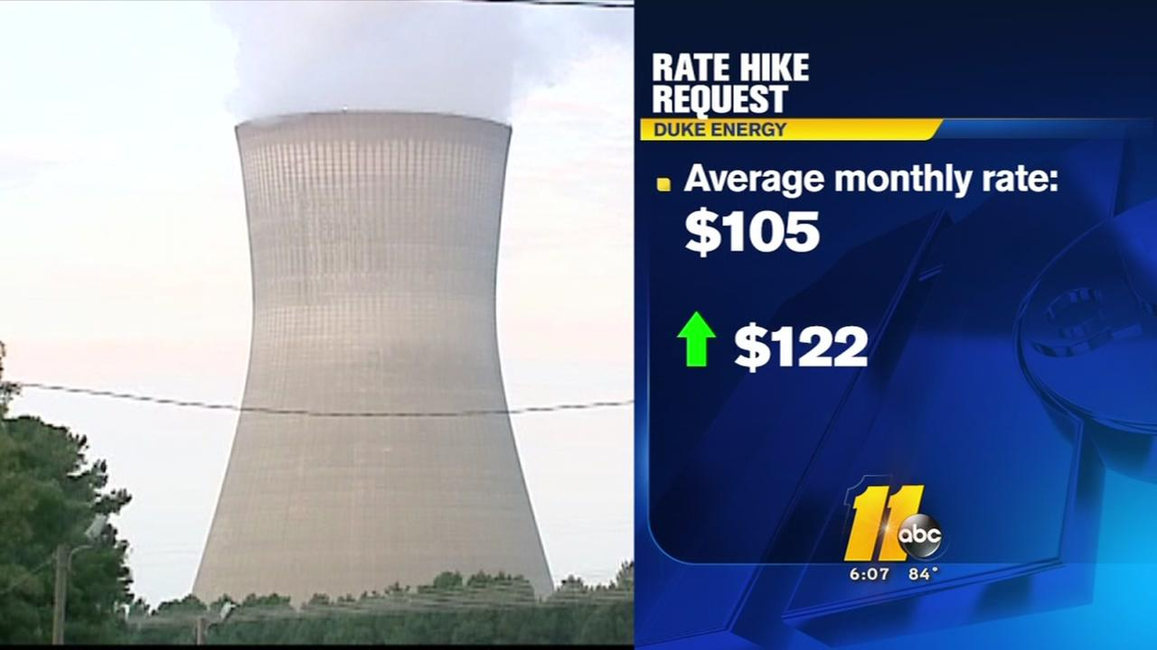 Duke Energy Progress wants large rate hike