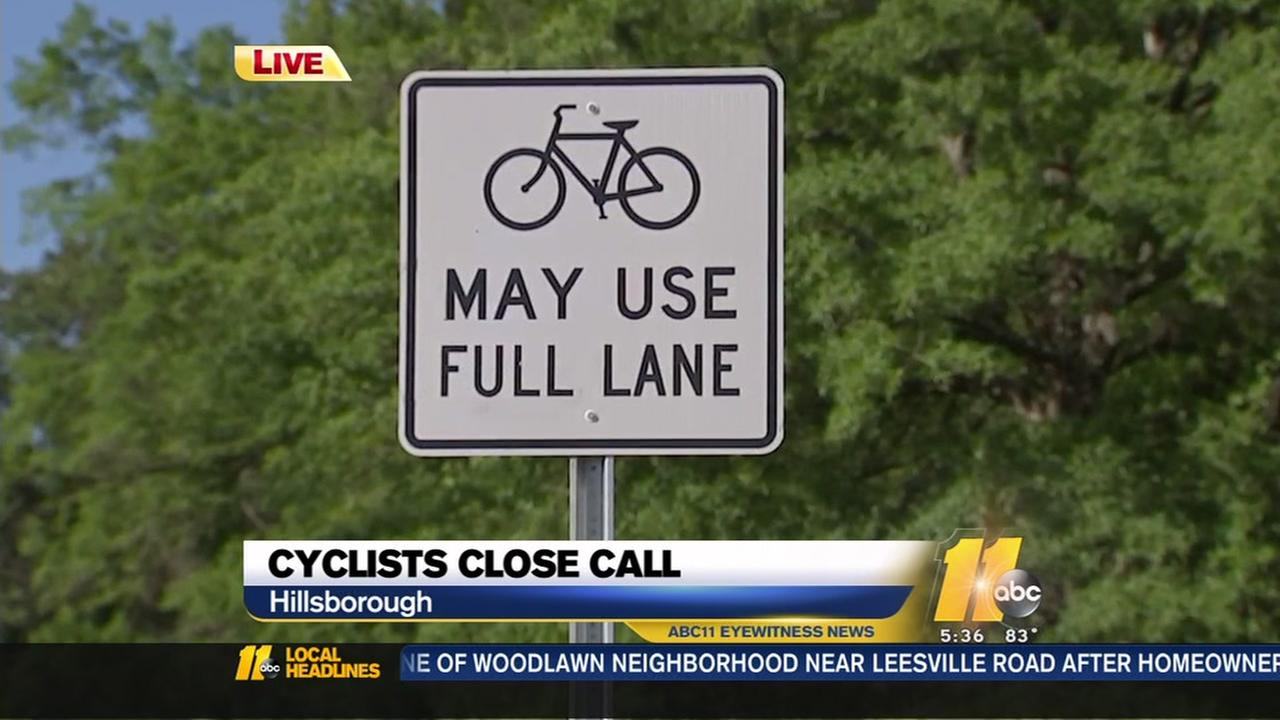 Close calls with cars worry cyclists