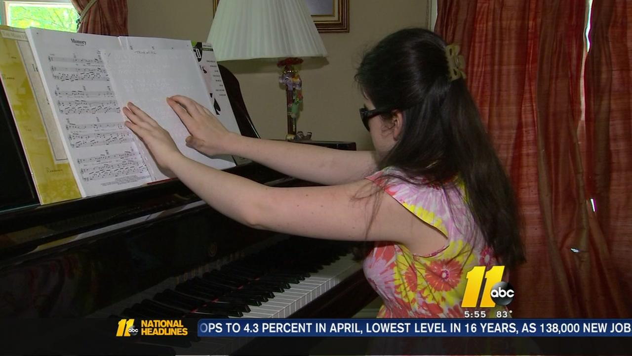 Local girl to compete in Blind singing competition